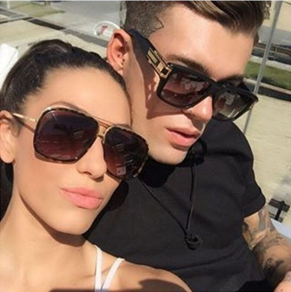 Celebrities Bestselling Stylish Sunglasses Men Women Brand Designer Sun Glasses Celebrity Hip Hop Sunglasses Men's Steampunk Oculos De Sol R098 3