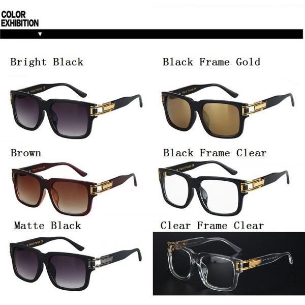 Celebrities Bestselling Stylish Sunglasses Men Women Brand Designer Sun Glasses Celebrity Hip Hop Sunglasses Men's Steampunk Oculos De Sol R098 4